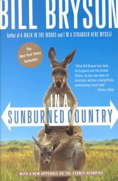 In a Sunburned Country by Bill Bryson.  Read this before I traveled to Australia and loved it.  Laughed out loud while reading it, which is rare for me!