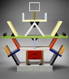 Ettore Sottsass, bibliothèque Carlton 1981