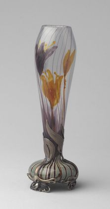 So delicate. Emile Gallé / Bud Vase / c. 1900