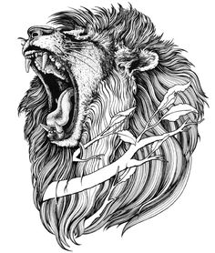 We talk about Art, Design and Architecture, feature talented artists from around the world.Come for the Art and checkout our Apps. Lion Head Tattoos, Mens Lion Tattoo, Tatoos, Animal Sketches, Animal Drawings, Ink Drawings, Lion Sketch, Mark Tattoo, Lion Tattoo Design