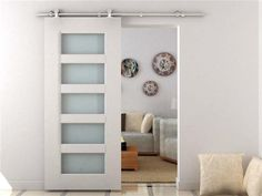 - Turn your normal door into an innovative sliding door- All hardware for set up included.- Sturdy and stable equipment.- Hardware only, door not included