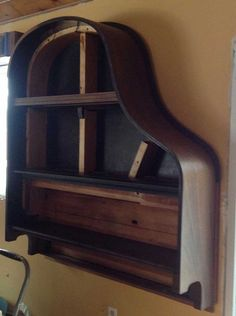 Picture of Building a Piano Bookcase for free!