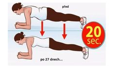 prkno-cvik Tabata, Planking, Excercise, Health Fitness, Family Guy, Challenges, Workout, Tv, Life