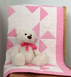 Handmade Baby Quilt, Pink Pinwheels, Baby Shower Gift, Baby Girl Quilt, Baby Blanket, Toddler, Nursery Bedding, Baby Christmas, Patchwork Baby Girl Quilts, Quilt Baby, Girls Quilts, Christmas Patchwork, Handmade Baby Quilts, Quilt Labels, Nursery Bedding, Pink Fabric, Christmas Baby
