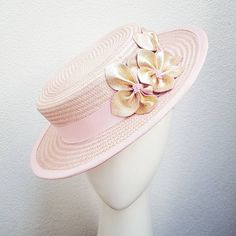 Custom pink boater hat with rose gold leather flowers off to her new home today! So cannot wait to see this gorgeous outfit See my stories for a sneak peek! #milliner #millinery #headwear #hat #pinkhat #boater #boaterhat #headpiece #leatherflowers #rosegold #designerheadpiece #fascinator #fashion #spring #racing #springracing #cupcarnival #racingcarnival #racingfashion #springfashion #myerfotf #fotf #ss16 #theraces #spring2016 #springcollection #handmade #tasdesigned #hobart