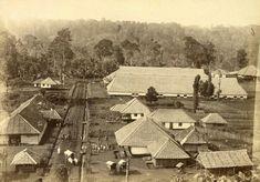 Komplek perumahan buruh petani di perkebunan tembakau Deli 1897