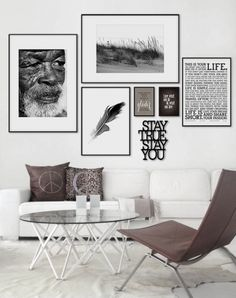 Unique Wall Art Decor Inspiration - Page 48 of 55 - Kornelia Beauty Living Room Interior, Living Room Decor, Picture Wall Living Room, Living Rooms, Home And Deco, Living Room Inspiration, Inspiration Wall, My New Room, Frames On Wall