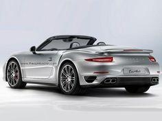 Porsche 911 Turbo Cabrio 2014: Offener 991 mit bis zu 560 PS / Computer-Design von Theophilus Chin #porsche911turbo #cabrio #convertible