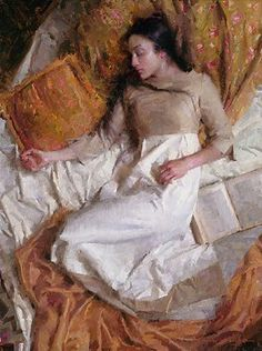 Morgan Weistling - Dreams in Gold - LIMITED EDITION CANVAS from the Greenwich Workshop Fine Art Gallery featuring fine art prints, canvases, books, porcelains and gift ideas. Pierre Auguste Cot, Morgan Weistling, Images Of Christ, Number Art, Sleeping Women, Gold Canvas, Canvas Signs, Figure Painting, Figurative Art