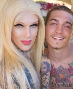 Cutest couple ever! Jeffree and Nathan