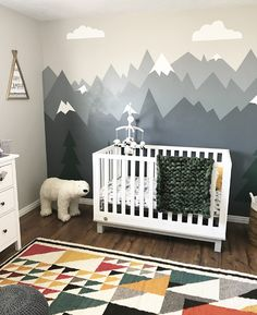 Pinterest...@blushedcreation  #nursery #nurserydecor #nurseryideas #baby #babyroom #blushedcreations Baby Boy Rooms, Baby Bedroom, Baby Room Decor, Baby Boy Nurseries, Toddler Rooms, Nursery Room, Kids Bedroom, Nursery Themes, Casa Color Pastel