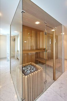 Do you want to create fabulous home sauna design ideas as your home design ideas? Creating a fabulous home sauna sounds great. In addition to making aesthetics in your home, a home sauna is very suitable for you to choose… Continue Reading → Home Spa Room, Spa Rooms, Sauna Steam Room, Sauna Room, Saunas, Sauna Wellness, Sauna House, Sauna Design, Bathroom Interior Design