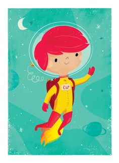 Space Adventurer by Lori Wemple