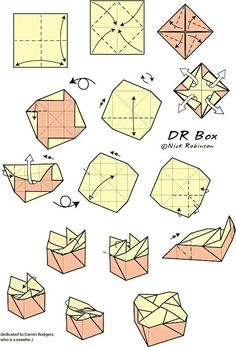Ein Blatt Box