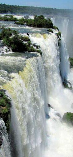 Iguassu Falls   Foz do Iguaçu, Brazil   by Claudia Maia
