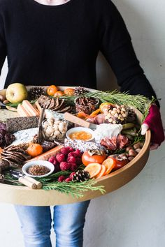 Whether its game day or just a holiday get together, there is nothing better to get people crowding your snack table like this perfect Cheese Board!