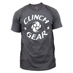 Tričko Clinch Gear ICON sivé