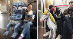 El metro de Nueva York puede ser un lugar bastante extraño, incluso en el mejor…