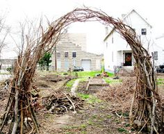 Out My front Door: branch arch project