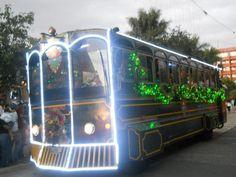 Trolley bus para disfrutar las luces del Paseo de la Sexta y el Paseo Jocotenango | Solo lo mejor de Guatemala