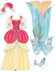 Paper Dolls~The Little Mermaid - Bonnie Jones - Picasa Web Albums