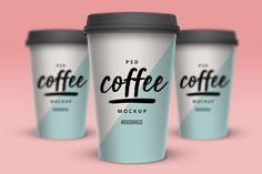 FREE Psd Coffee Cup Mockup Vol. 1 Show your branding better! Place your design into this FREE Psd Coffee Cup Mockup.