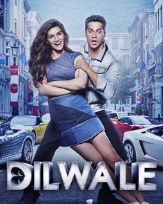 Varun Dhawan and Kriti Sanon show their playful side in this new Dilwale poster!