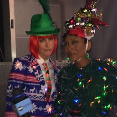 We take the ugly holiday sweater competition very seriously.