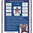 3rd Grade Historical Figures Unit   Paul Revere, Thurgood Marshall, Frederick Douglas, Franklin D. Roosevelt, Eleanor Roosevelt, Mary McLeod Bethune...