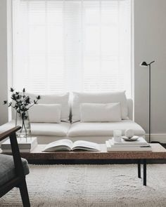 Home Interior Pictures Scandinavian living room. Photo by Charlotte King of Le Petit Fika Living Room Interior, Home Living Room, Living Room Designs, Living Room Furniture, Living Room Decor, Living Spaces, Living Room White, Living Room Sets, Kitchen Furniture