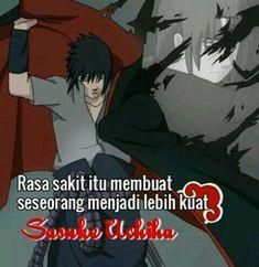 Anime Motivational Quotes, Me Quotes, Gaara, Sasuke Uchiha, Anime Neko, Anime Naruto, Anime Qoutes, Writing Words, Muslim Quotes