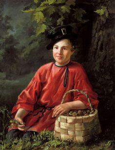 Портрет мальчика, 1834