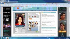 Filmik przedstawia instrukcję stworzenia awatara w darmowej usłudze Voki i wykorzystanie go na stronie www.
