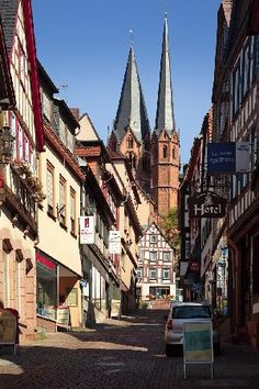 Gelnhausen West Germany...I actually lived here for a while, gorgeous