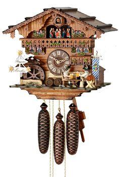 8 day musical beergarden clock