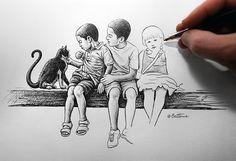 Children by BenHeine on DeviantArt