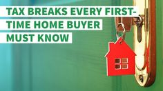 7 Tax Breaks Every First-Time Homebuyer Must Know https://www.gobankingrates.com/personal-finance/9-tax-breaks-first-time-home-buyer-must-know/