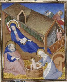 Pontificale-missale Johannis, ducis Bituricensis Auteur : Maître de Luçon. Enlumineur Date d'édition : 1400-1425 Contributeur : Maître d'Étienne Loypeau Type : manuscrit Langue : Latin