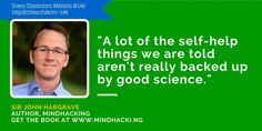 Sir John Hargrave has taken the research on the mind and related it to current self-help practices to help us learn what works. In today's episode, we learn about essential thought patterns we should understand to be successful educators. Metacognition is an essential skill of the most successful students.I also share how I overcame my […]