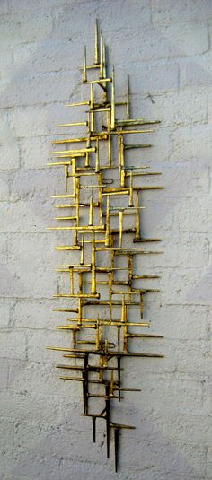 Shop wall-mounted sculptures and other wall décor and wall art from the world's best furniture dealers. Steel Art, Outdoor Sculpture, Wall Decorations, Vintage Walls, Art Object, Wall Sculptures, Pyrography, Modern Wall, Bushcraft
