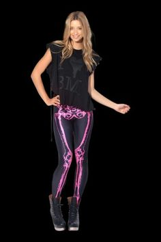 Neon pink bones M (DREAM PIECE!!!!) Black Milk, My Black, Sporty, Bones, Pink, Neon, Collection, Dresses, Style