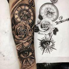 🙏🏻🔥 Artis IG @tattoolucas DM for a feature or shoutout🙌🏼 💉Sharing the Best tattoos worldwide💉 👉🏽Follow @inkkwoorld 👈🏽 / / #tattooflash… Forarm Tattoos, Forearm Sleeve Tattoos, Best Sleeve Tattoos, Tattoo Sleeve Designs, Rose Tattoos, Leg Tattoos, Body Art Tattoos, Tattoos For Guys, Tatoos