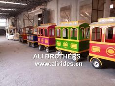 18 Persons Shopping Mall Electric Trackless Train for Sale