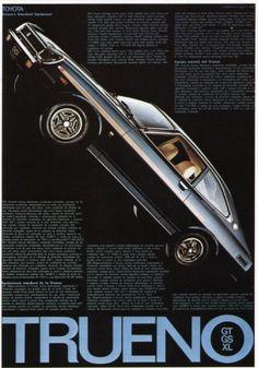 トヨタトレノ ポスター, 1976 秋元克士