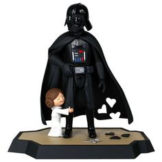 "Princess Leia Star Wars "" and [ DX ] Maquette Darth Vader"". #Starwars #Statue #Figures #Gosstudio #gift . We recommend Gift Shop: http://www.zazzle.com/vintagestylestudio"