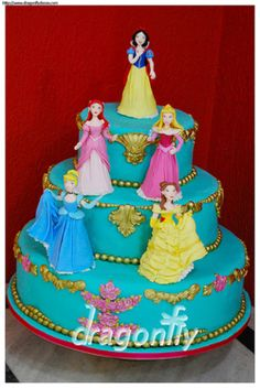 disney princess cake ideas Disneyprincesscakedesigns Cake
