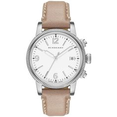 Burberry Watch, Women's Swiss Smooth Trench Leather Strap 38mm BU7822 $495