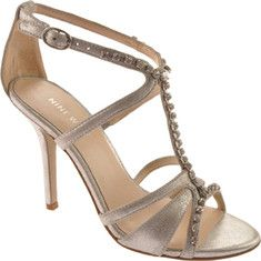 Nine West Somuchluv is a strappy quarter strap sandal with jewel accents.