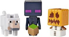 Minecraft Snow Golem/Enderman and Wolf Figures (Pack of 3) Minecraft http://www.amazon.co.uk/dp/B00SY776OY/ref=cm_sw_r_pi_dp_tHI0vb1G034XT