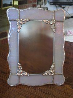 Lavender Opal Picture Frame